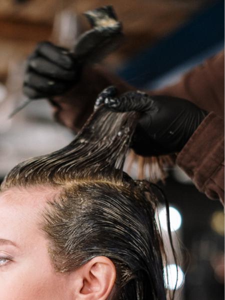 Haarefärben